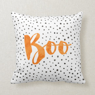 Chic Boo Halloween Dotted Pillow