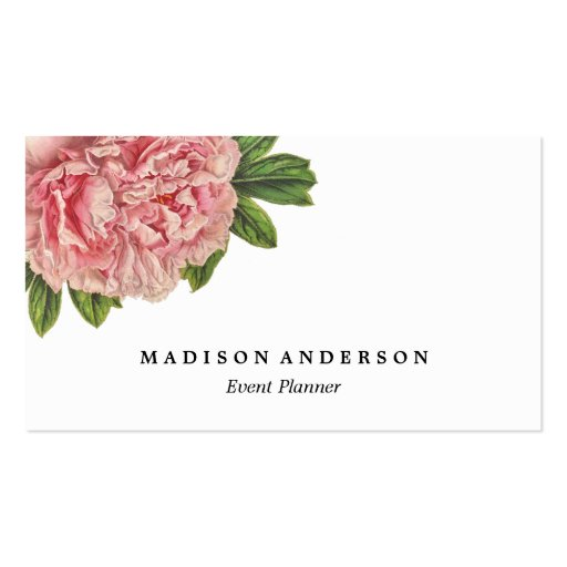 Chic Botanical   Business Cards