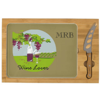 CHIC CHEESE TRAY_WINE LOVER