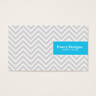Chic Chevron Business Card