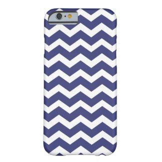 Chic Chevron iPhone 6 case Navy and White