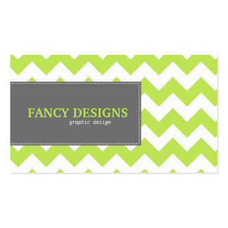 Chic Chevron Stripes Pack Of Standard Business Cards