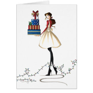 Chic Christmas Cheer Card