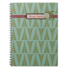 Chic Christmas Notepad Notebook