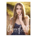 Chic Class of 2015 Photo Graduation Party 13 Cm X 18 Cm Invitation Card