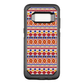 Chic colorful Ethno Pattern OtterBox Commuter Samsung Galaxy S8 Case