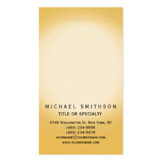 Chic Contemporary Simple Consultant Business Card