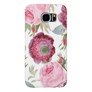 Chic Country Signature Floral Samsung Galaxy S6 Cases