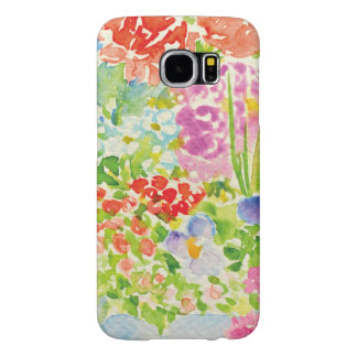 Chic Country Signature In The Garden Samsung Galaxy S6 Cases