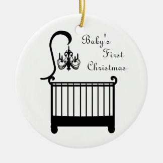 Chic Crib Chandelier Baby's First Christmas 2010 Christmas Ornament