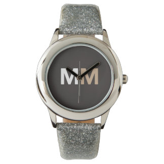 Chic Custom Melanin Magic LoveFetti Watch