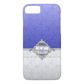 Chic Damask Monogram iPhone 7 Case