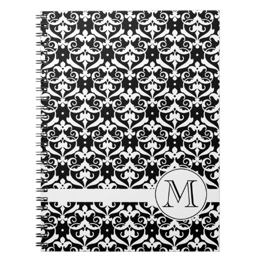 Chic Damask Notebook