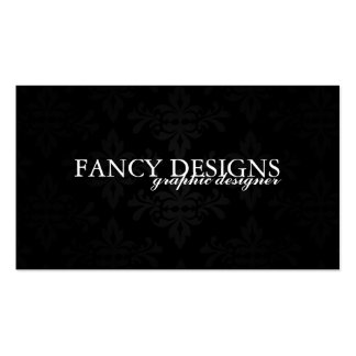 Chic Damask Pack Of Standard Business Cards