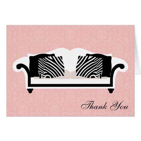 Chic Decor Folded Thank You Notes