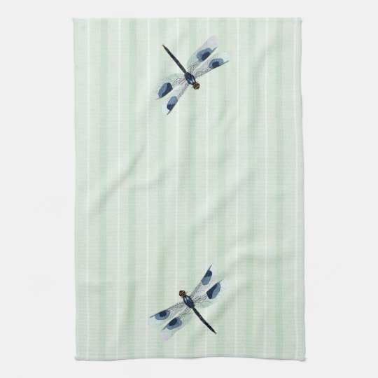 Chic Dragonfly Kitchen Towel