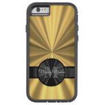 Chic elegant gold personalised monogram tough xtreme iPhone 6 case