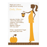 Chic Fall Mum-to-Be Invitations