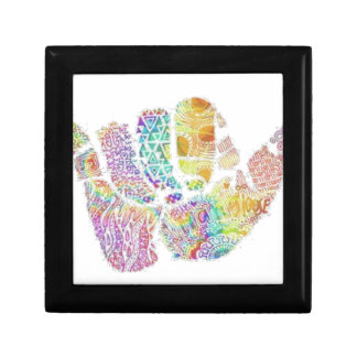 chic famous peace design gift box