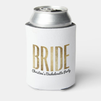 Chic Faux Gold Bride Bachelorette Party