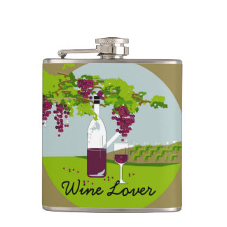 CHIC FLASK_WINE LOVER HIP FLASK