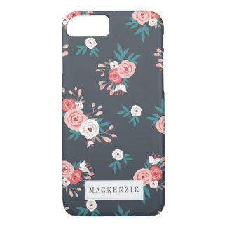 Chic Floral Personalized iPhone 8/7 Case