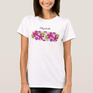 chic flower pattern T-Shirt