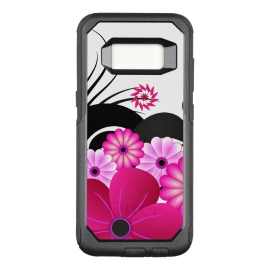 Chic Fuchsia Magenta Pink Floral Hibiscus Flowers OtterBox