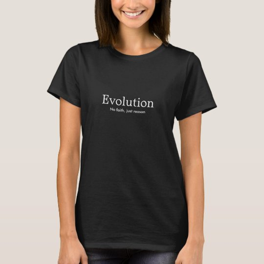chic geek evolution women's dark tee