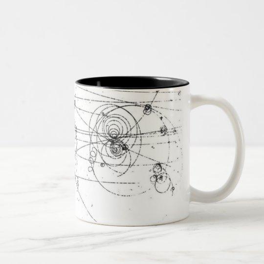 chic geek particle tracks coffee mug