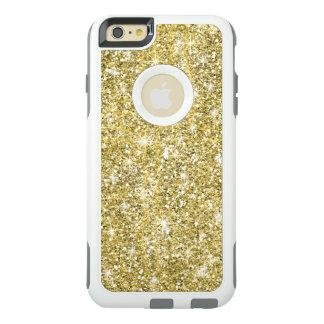 Chic Gold Glitter Otterbox iPhone 6 Plus Case