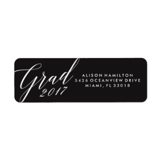 Chic Grad | Graduation Address Labels