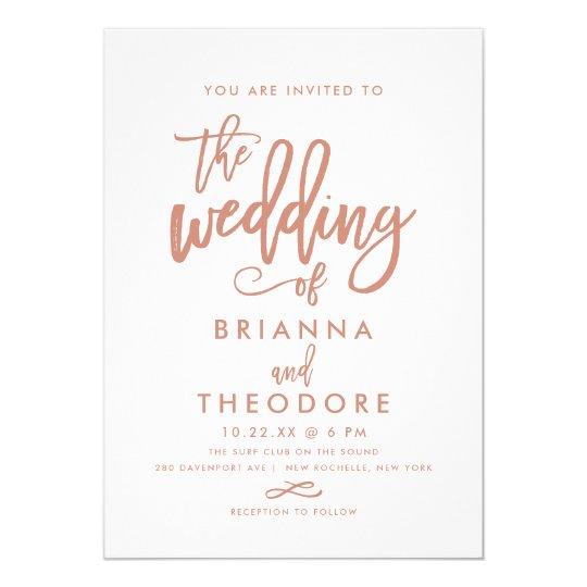 Casual Wedding Invitations & Announcements