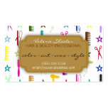 Chic Hues Multicolor Hair Beauty Appointment Card Business Card