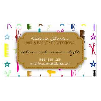 Chic Hues Multicolor Hair & Beauty Coupon Discount Pack Of Standard Business Cards