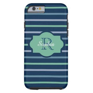 CHIC IPHONE 6 CASE_AQUAMARINE/LUCITE/SCUBA-BLUE TOUGH iPhone 6 CASE