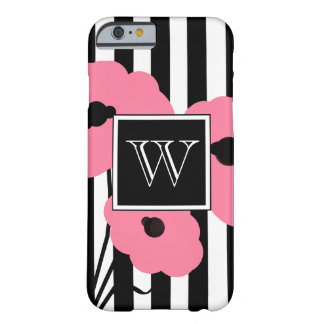 CHIC IPHONE 6 CASE_MOD PINK POPPIES BARELY THERE iPhone 6 CASE
