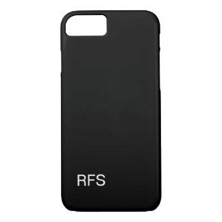 CHIC IPHONE 7 CASE_CLASSIC BLACK iPhone 8/7 CASE