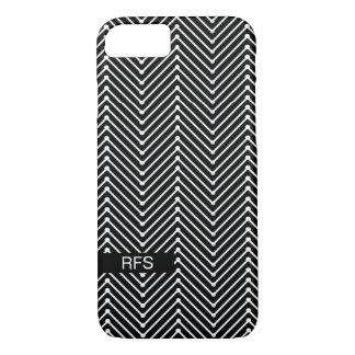 CHIC IPHONE 7 CASE_COOL, MODERN ZIGZAG DESIGN iPhone 8/7 CASE
