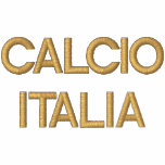 Chic Italian Fashion Calcio Italy Flag Italia 2012 Embroidered Track Jacket