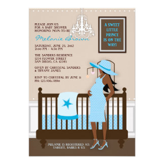 Chic Modern Mum Contemporary Baby Shower Invite