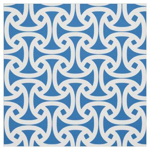 Chic, Modern Pattern - Wellfleet - Blue Fabric