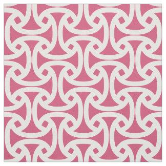 Chic, Modern Pattern - Wellfleet - Bright Pink