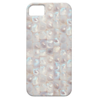 Chic Mother of Pearl Elegant Mosaic Pattern iPhone 5 Cover