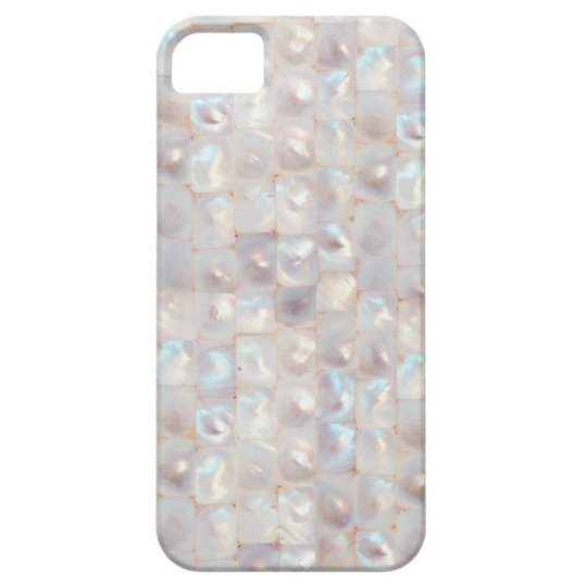 Chic Mother of Pearl Elegant Mosaic Pattern iPhone