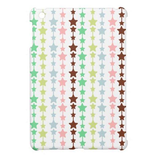 Chic Multicolored Stars Pattern iPad Mini Case