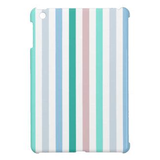 Chic Multicolored Stripes iPad Mini Cover