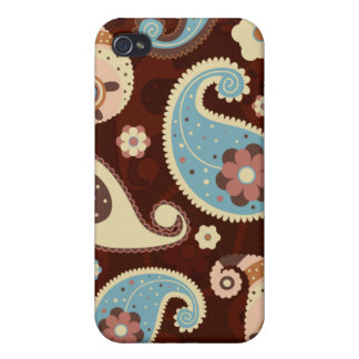 Chic Paisley iPhone Case Covers For iPhone 4
