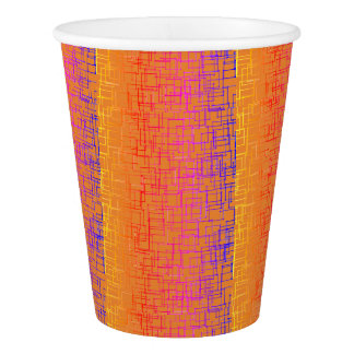 CHIC PAPER CUP_MOD MULTI-COLOR GEOMETRIC_DIY PAPER CUP