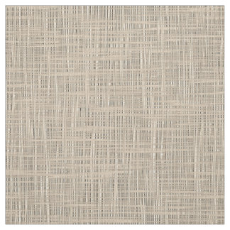Chic Pastel Taupe Color Faux Jute Fabric Pattern